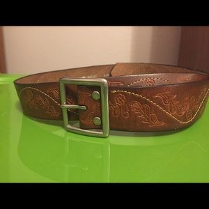 Brown Leather Belt from Buckle   XL